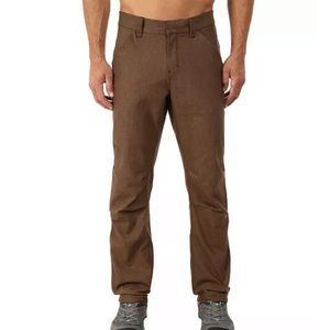 Arcteryx Alden Pants Tamias Brown Slim Trim 34